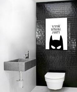 Plakat do toalety