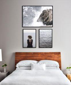 Zestaw plakatów skandynawskich do sypialni