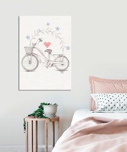 Plakat vintage do dekoracji sypialni