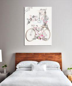Plakat vintage do sypialni