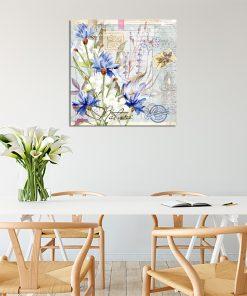 Plakat z motywem kwiatów do kuchni