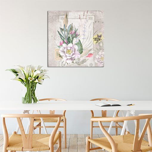 Beżowy plakat do kuchni
