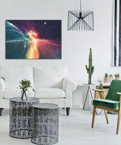 Kolorowy plakat do salonu