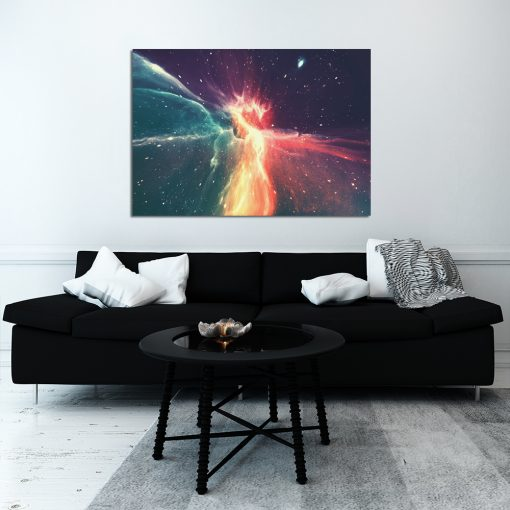 Galaktyczny plakat do salonu