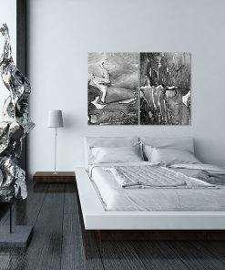 Dwa plakaty w zestawie do salonu