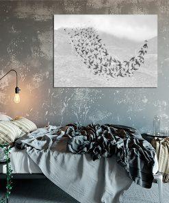 Plakat skandynawski do sypialni