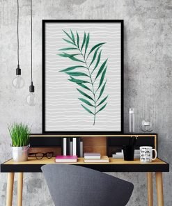 Plakat tropikalny do ozdoby biura