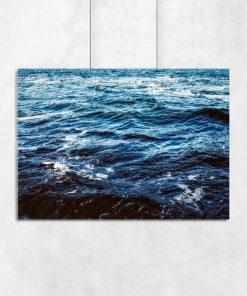 Plakat przedstawiający morze