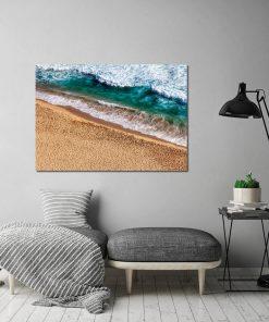 Plakat z motywem morza do salonu