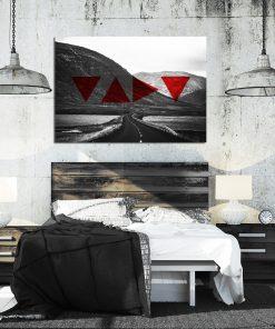 Plakat z krajobrazem do sypialni