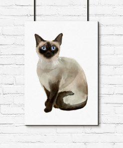 Plakat dla miłośnika kotów