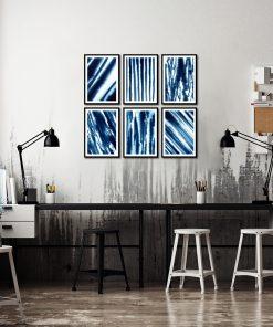 abstrakcyjne plakaty na ścianę