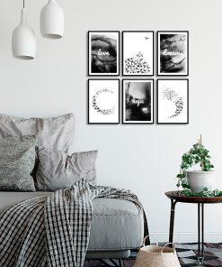 dekoracje z abstrakcją
