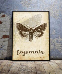 wspaniały motyl jako plakat