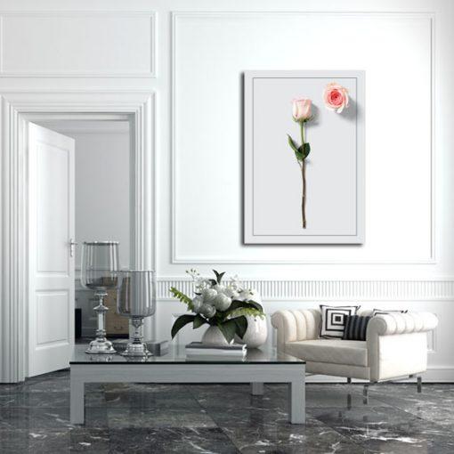 pionowa dekoracja do salonu