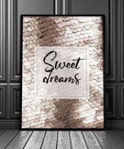pionowy plakat do sypialni