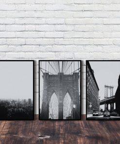 mosty biało-czarne o salonu