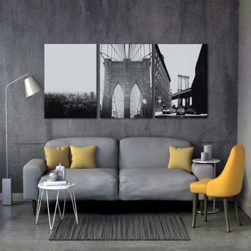 mosty na plakatami