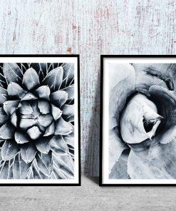 motyw kwiatów jako dyptyk