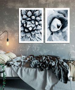 plakaty z motywem kwiatów