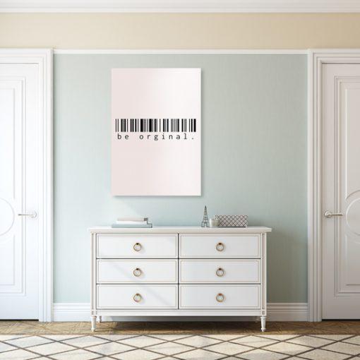 napis na plakacie różowym