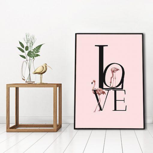napis na plakacie o miłości