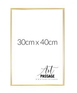 złote ramy do plakatów 30x40