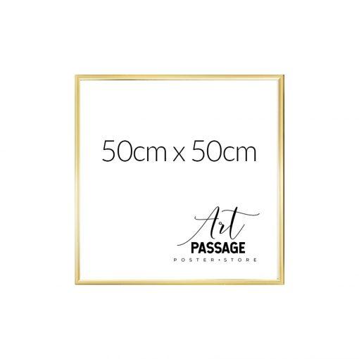 złota rama do plakatów 50x50