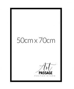 czarna ramka na plakaty 50x70