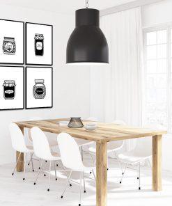 zestaw plakatów na ścianę do kuchni