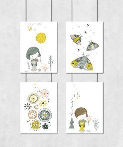 Galeria plakatów z dziecięcymi rysunkami