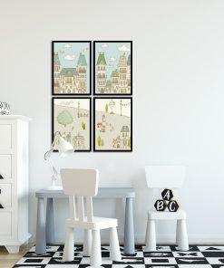 Galeria plakatów do pokoju dziecięcego