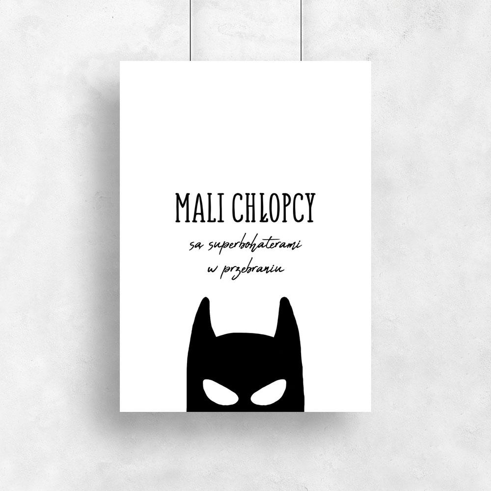 Plakat Dziecięcy Z Motywem Batmana