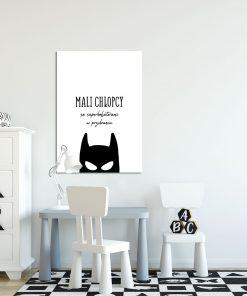 Plakat typograficzny do pokoju dziecka