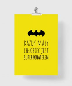 Plakat z motywem Batmana