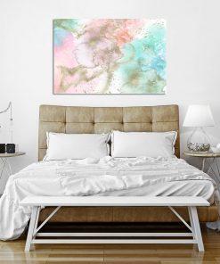 Kolorowy plakat do sypialni