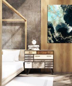 Plakat abstrakcyjny do sypialni
