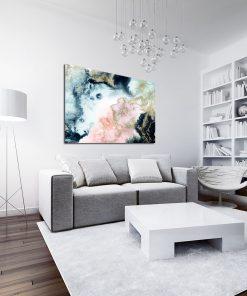 Abstrakcyjny plakat na ścianę do salonu