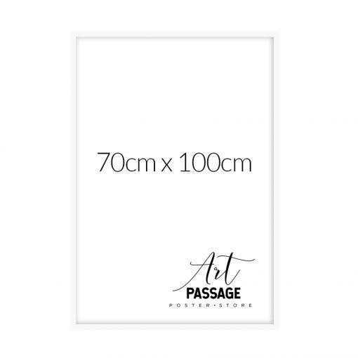 biała rama na plakaty 70x100