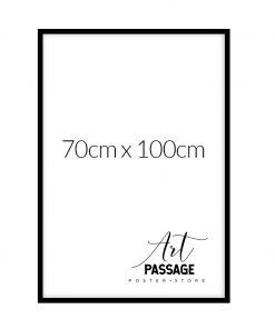 czarna ramka do plakatów 70x100