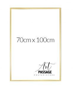 złota ramka do plakatów 70x100