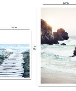 Plakat dyptyk z morzem
