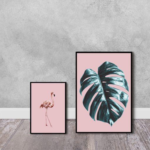 Tropikalny zestaw dwóch plakatów
