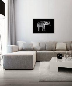 dekoracje ze słoniem