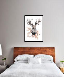 Plakat na ścianę do ozdoby sypialni