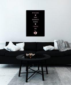 Plakat do dekoracji salonu urody