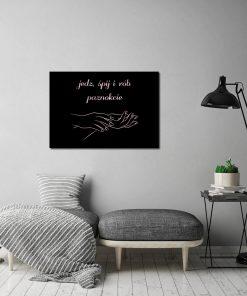 Plakat metaliczny do salonu piękności