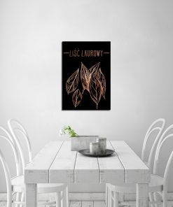 Plakat metaliczny do kuchni