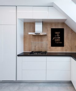 Miedziany plakat do kuchni
