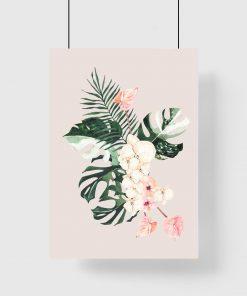 Plakat tropikalny